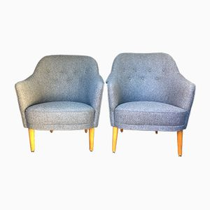 Samas Armchairs by Carl Malmsten for O. H. Sjögren, Set of 2