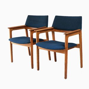 Danish Occasional Chairs from Bjerringbro Kontormøbler, 1960s, Set of 2