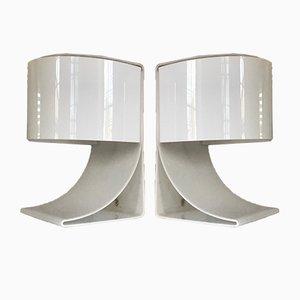 Lampade da tavolo di Chabrieres, anni '70, set di 2