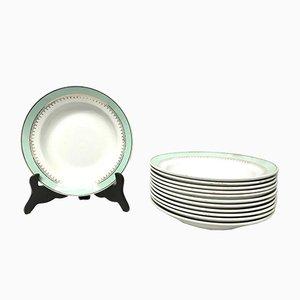 Antique Tableware from Luneuville Deni-Porcelane Pigalle