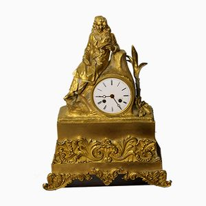 French Clock in Bronze, 1827