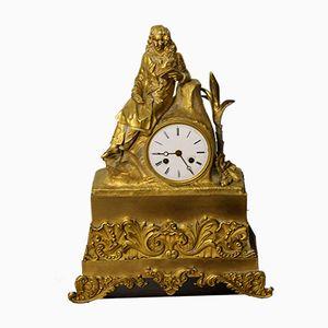 Orologio in bronzo, Francia 1827