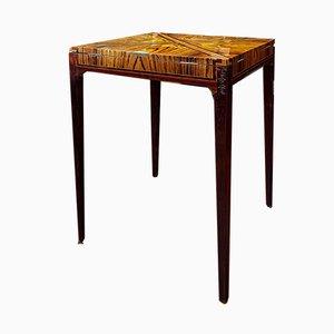 Tavolo da gioco vintage di Gallé