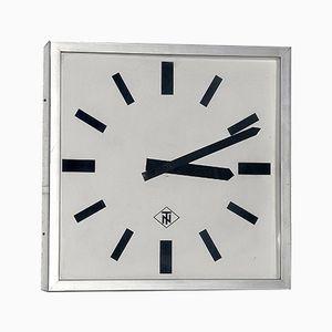 Horloge d'Usine Allemagne de l'Ouest de Tele Norma, 1970s