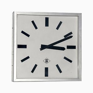 West German Factory Clock from Tele Norma, 1970s