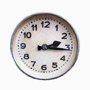 Horloge d'Usine Industrielle, Allemagne, 1940s