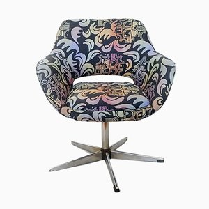 Graphic Print Easy Chair from Stol Kamnik, 1970s