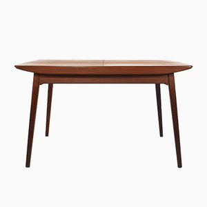 Mesa de comedor de teca de Louis Van Teeffelen para Webe