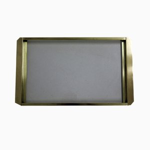 Vintage Tablett aus Messing
