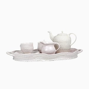 Porcelain Tea Set for One by Toni De Jesus
