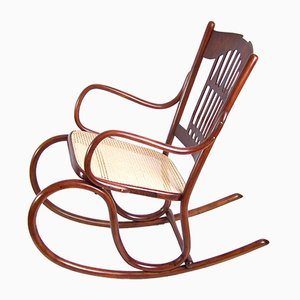 Rocking Chair de Jacob & Josef Kohn, 1900s