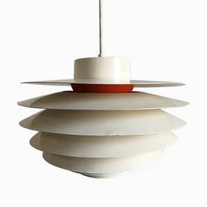 Mid-Century Verona Pendant Lamp by Svend Middelboe for Nordisk Solar