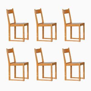 Swedish Chairs by Sven Markelius, 1931, Set of 6