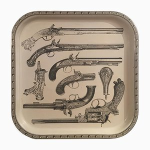 Pistols Tray by Piero Fornasetti, 1978