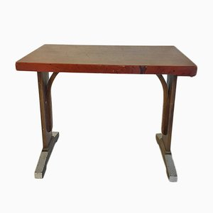 Tavolo da bistrò in legno e bachelite, anni '60