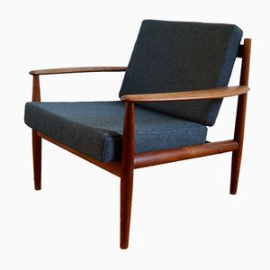 Scandinavian Teak Armchair by Grete Jalk for France & Søn, 1960s