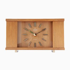 Vintage ATO-MAT Table Clock from Junghans, 1970s