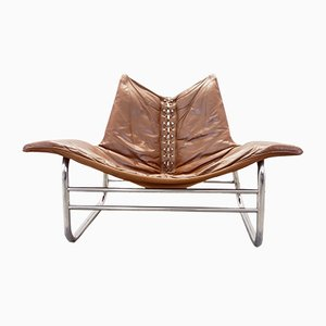 Low Mid-Century Danish Lounge Chair