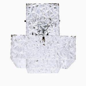 Hängelampe aus Plexiglas von Austrolux, 1960er