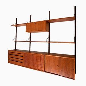 Libreria modulare Royal System di Poul Cadovius per Cado, anni '60