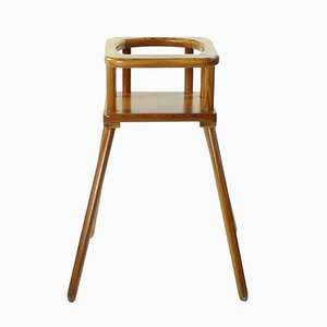 Beech Wood Highchair, 1960s