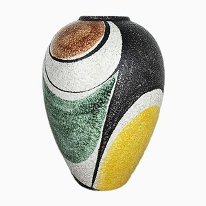Milano Pottery Vase by Rudolf Schardt for Ruscha, 1950s