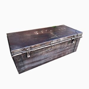 British Metal Ammunitions Trunk, 1940s