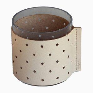 Vaso o portaoggetti basso Dot di Bilge Nur Saltik per Uniqka