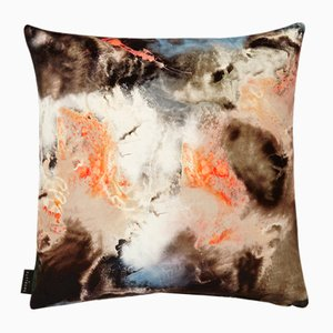 Cloudbusting Peach Cushion by 17 Patterns