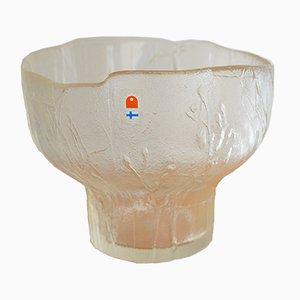 Schale aus Glas von Pertti Santalati für Humppaila, 1970er