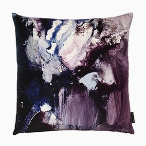 Nebulous Violet Cushion by 17 Patterns