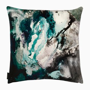 Nebulous Cushion in Jade by 17 Patterns
