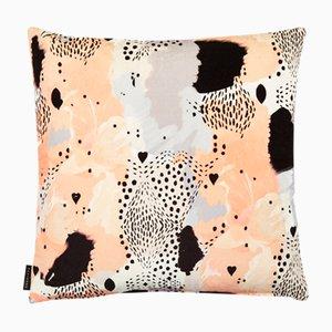 Coussin Love Leopard Pêche par 17 Patterns
