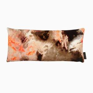 Cloudbusting Peach Lumbar Cushion by 17 Patterns