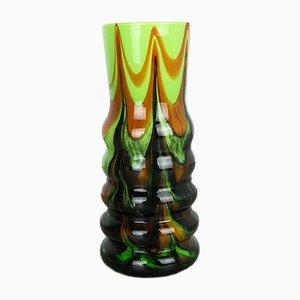 Vase Pop Art Vintage par Carlo Moretti pour Opaline Florence, Italie, 1970s