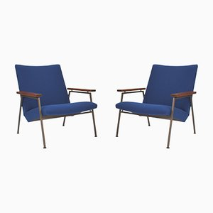 Vintage Lotus Lounge Chairs by Rob Parry for De Ster Gelderland, 1950s, Set of 2