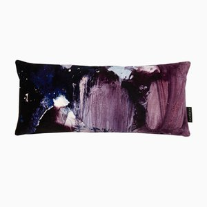 Cojín lumbar Nebulous en violeta de 17 Patterns