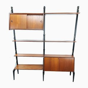 Dutch Wall Unit by Louis van Teeffelen for WéBé, 1960s