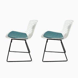 Vintage Model 420 Chairs by Harry Bertoia for Knoll Int., Set of 2