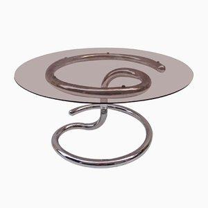 Tavolino da caffè Anaconda vintage di Paul Tuttle per Strässle