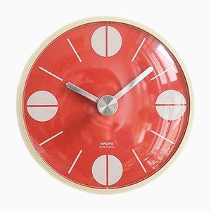 Horloge Murale de Krups, 1973