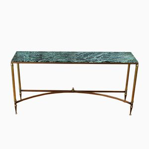 Marble Console Table from Maison Jansen, 1930s