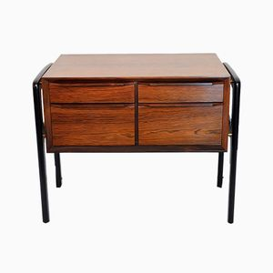 Scandinavian Bedside Table in Rosewood, 1960s