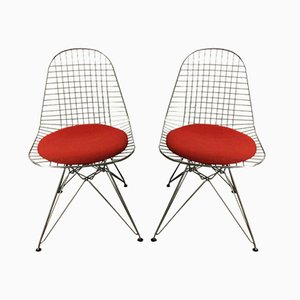 Vintage DKR Chairs by Charles & Ray Eames for Herman Miller, Set of 2