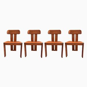 Vintage Chairs from Afra & Tobia Scarpa, Set of 4