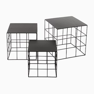 Reton Coffee Tables by Antonino Sciortino for Atipico, Set of 3