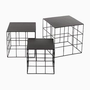 Tavolini da caffè Reton di Antonino Sciortino per Atipico, set di 3