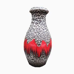 Vintage West German Fat Lava Vase from Scheurich, 1960s