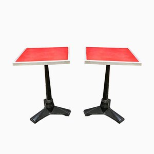 Vintage Bistro Tables from Fischel, Set of 2