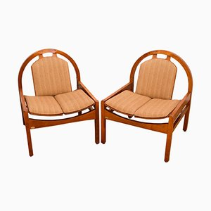 Argos Lounge Chairs from Baumann, 1980s, Set of 2